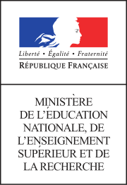 Logo du MINISTERE FRANCIAS DE L'EDUCATION NATIONALE