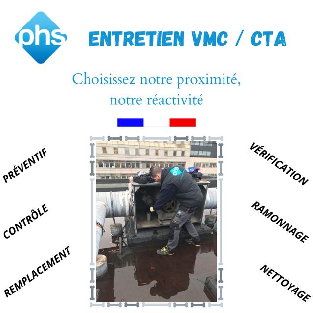 PHS – Entretien VMC / CTA